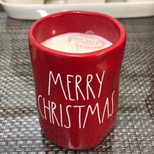 Rae Dunn Merry Christmas Candle